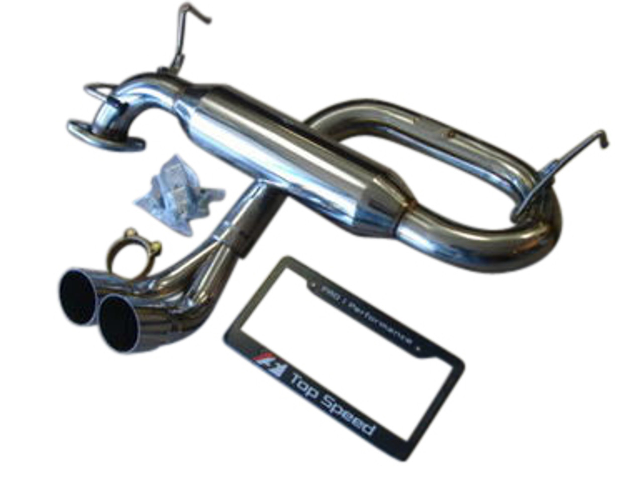 toyota mr2 spyder zzw30 00 05 track spec resonator exhaust system