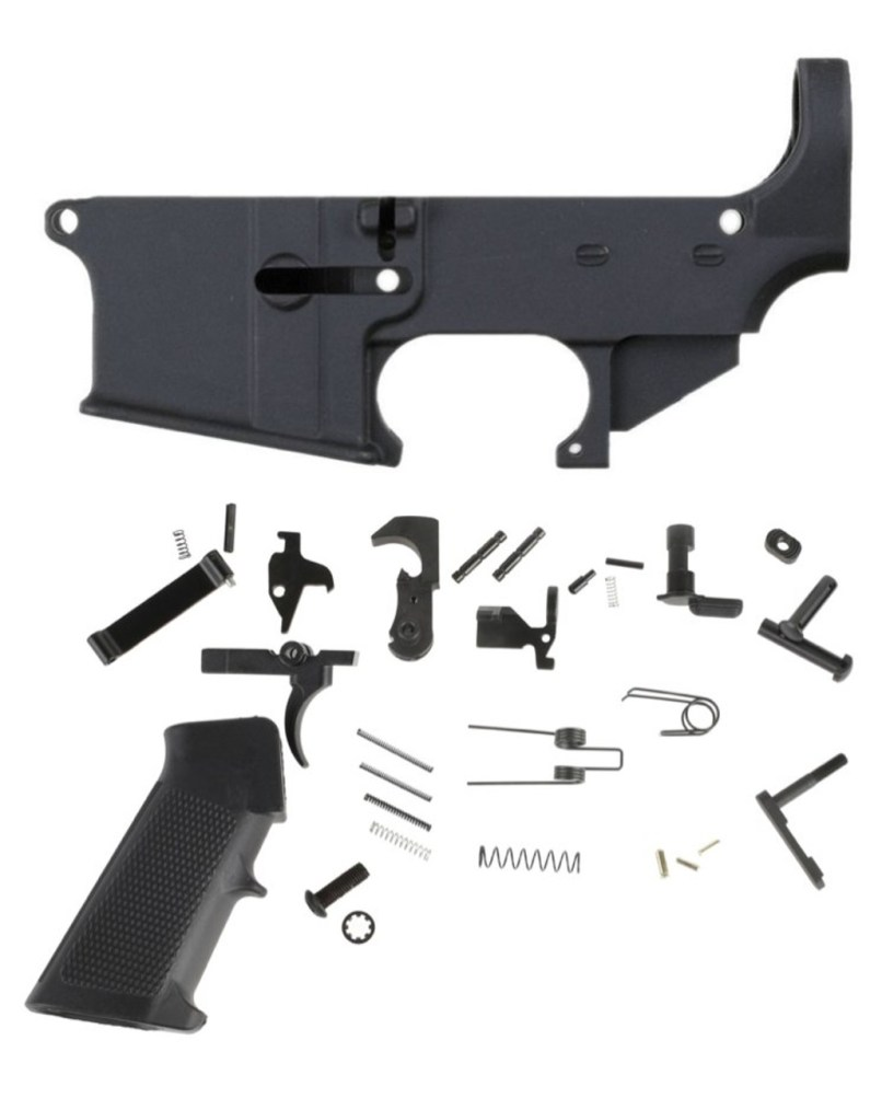 Anderson Lower Parts Kit With Grip