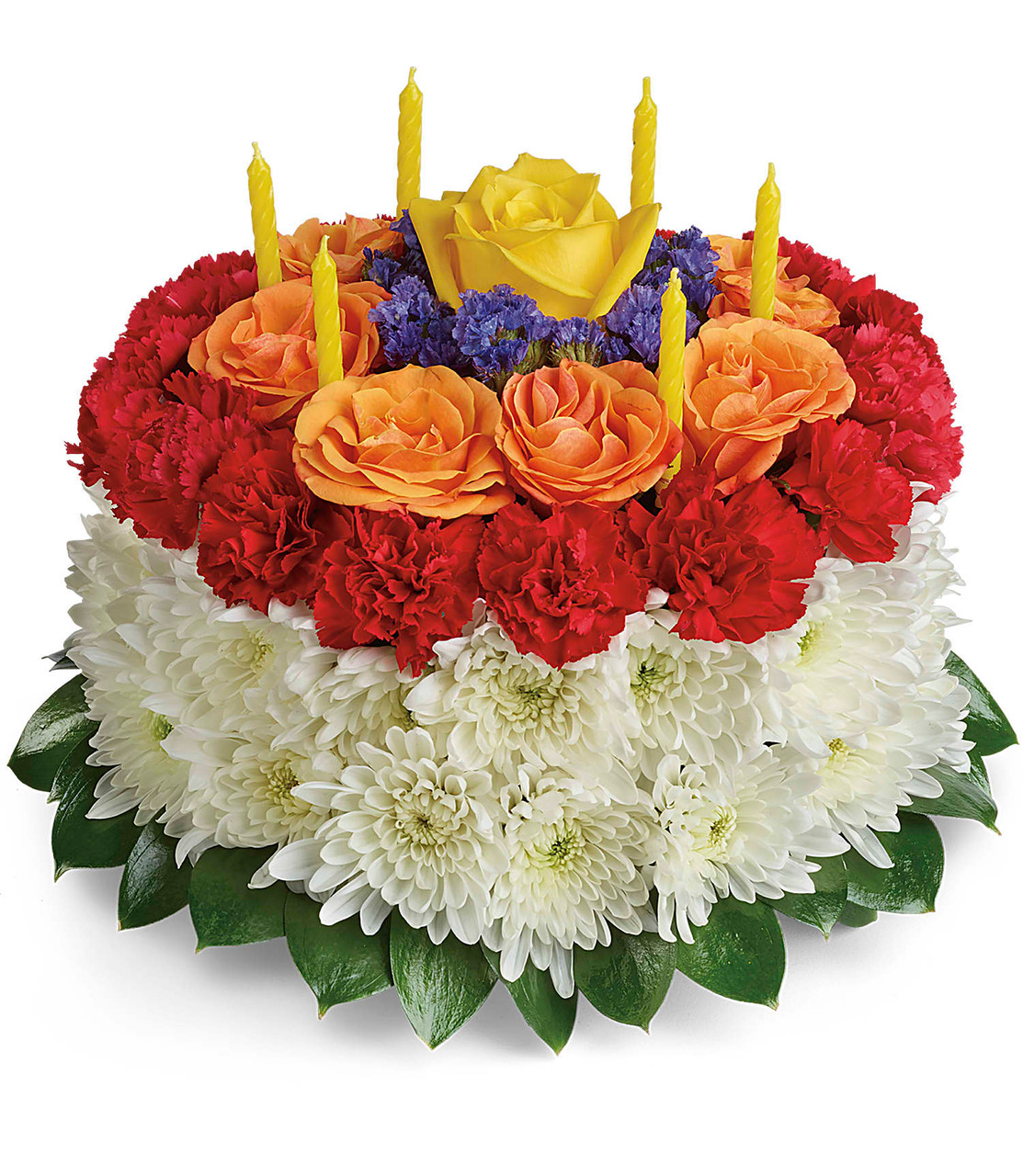 Make A Wish Birthday Cake Flower Bouquet