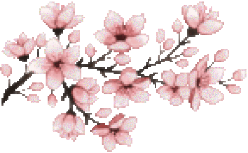 Image result for sakura pixels