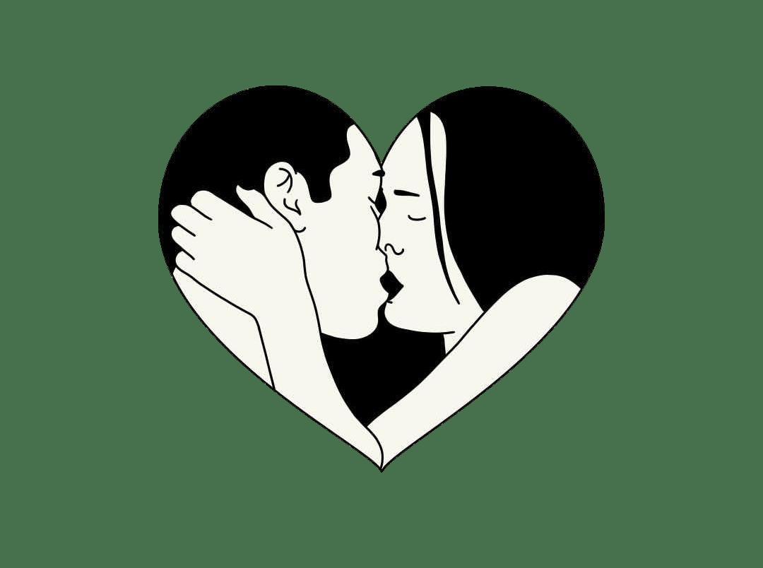 Love Kiss Heart Tumblr