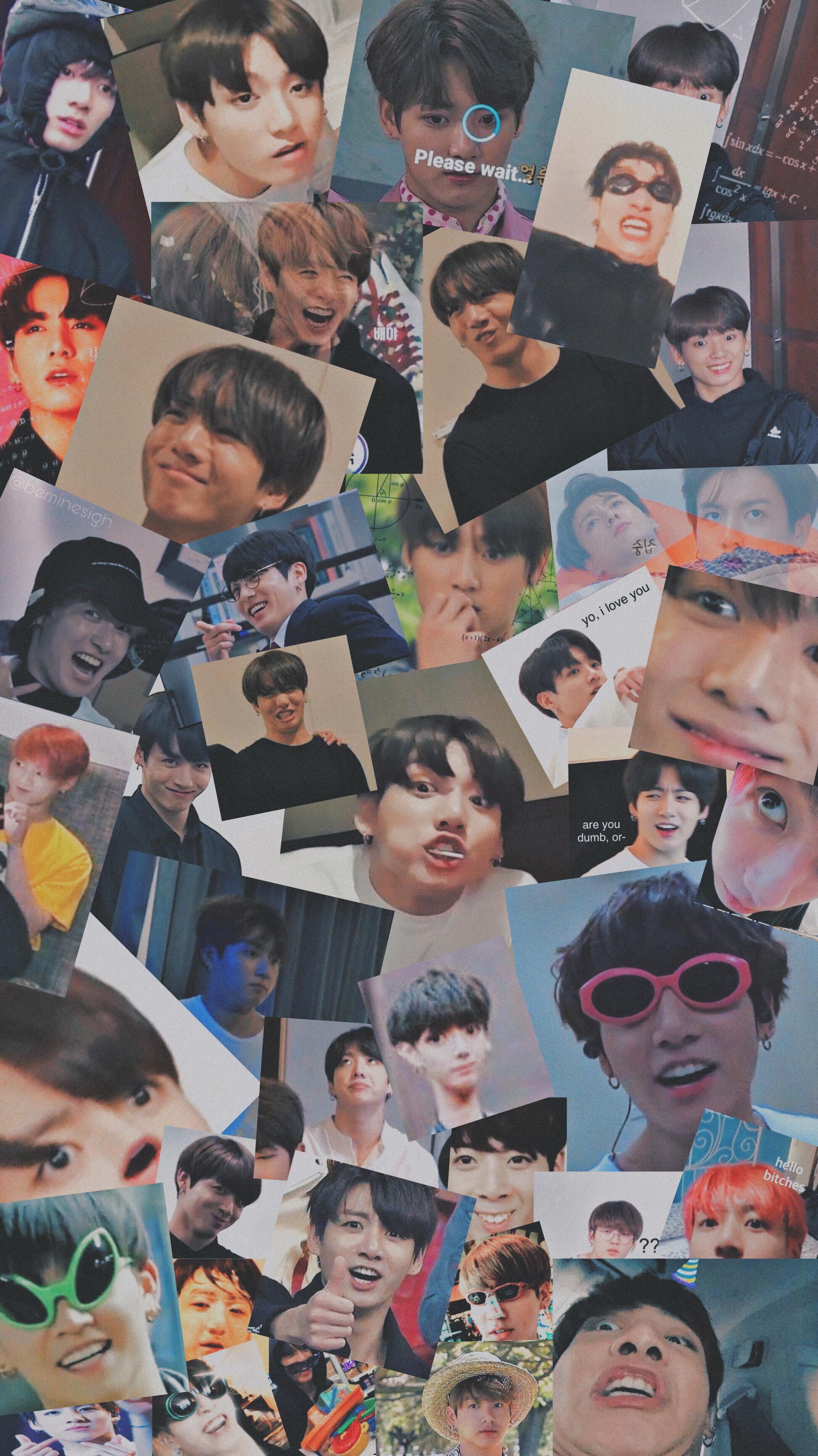 Jungkook Wallpaper Memes Messy Bts Image By Shay Park