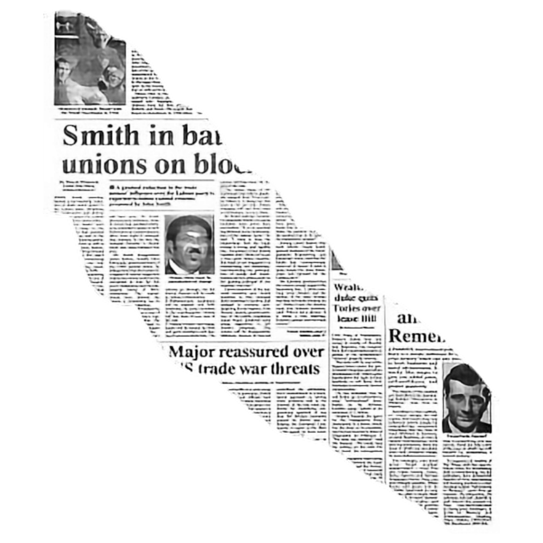 Newspaper Text Background Overlay Aesthetic Icon Tumblr