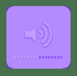 Purple Aesthetic Sticker Png Unixpaint