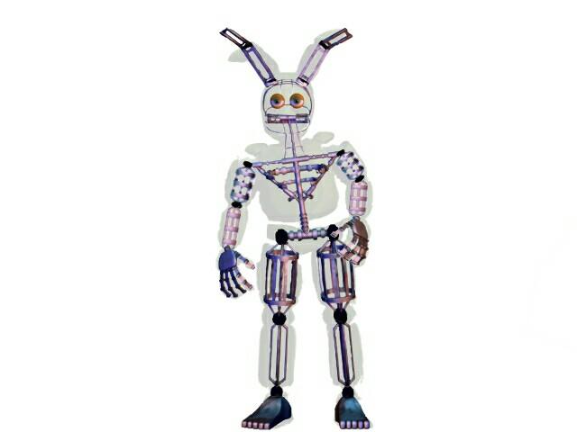 Spring Endoskeleton Bonnie