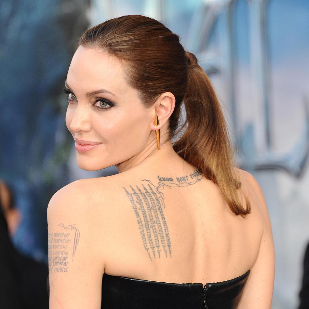 анджелина джоли и брэд питт сделали татуировки чтобы укрепить брак
