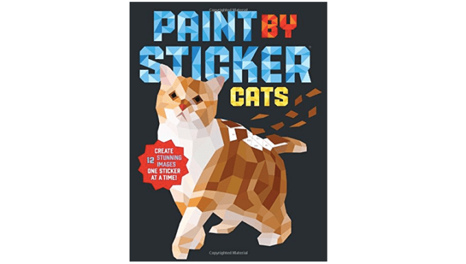 Cat sticker book