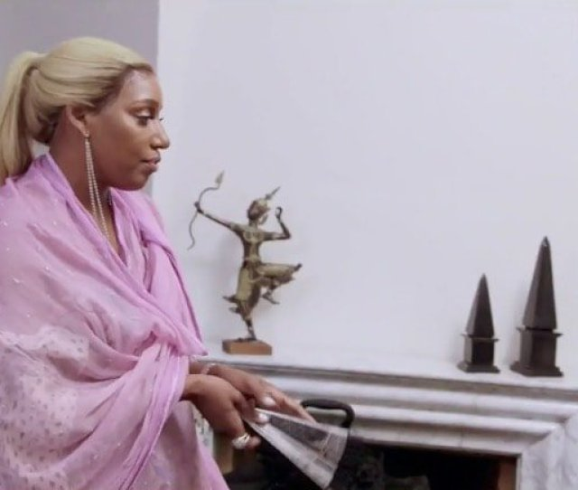 After Kandi Snags The Best Room With A Balcony Looking Over The City Nene Confers With Cynthia And Decides That As The Mature Ladies Of The Group