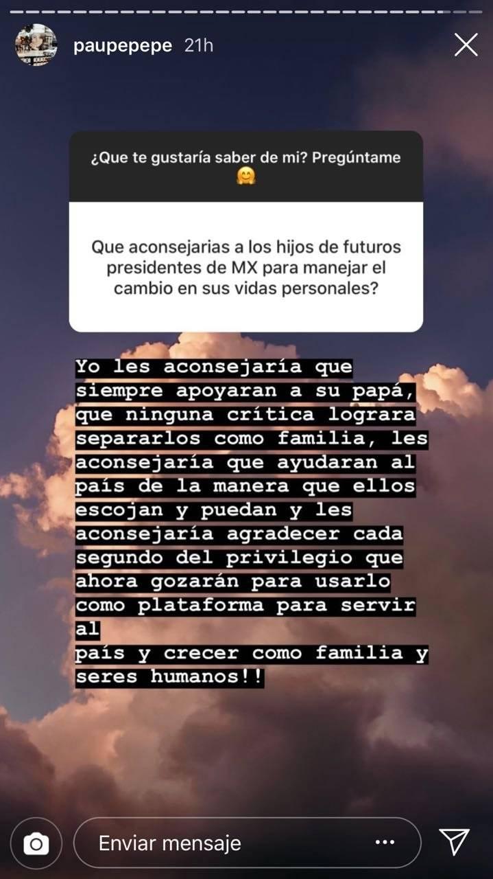 Pau Pea Dedica Mensaje En Instagram A Hijos De Lpez