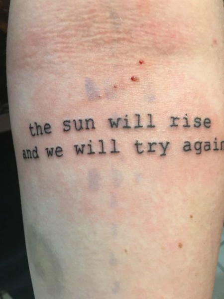 Sun Rise Tattoo Again Will