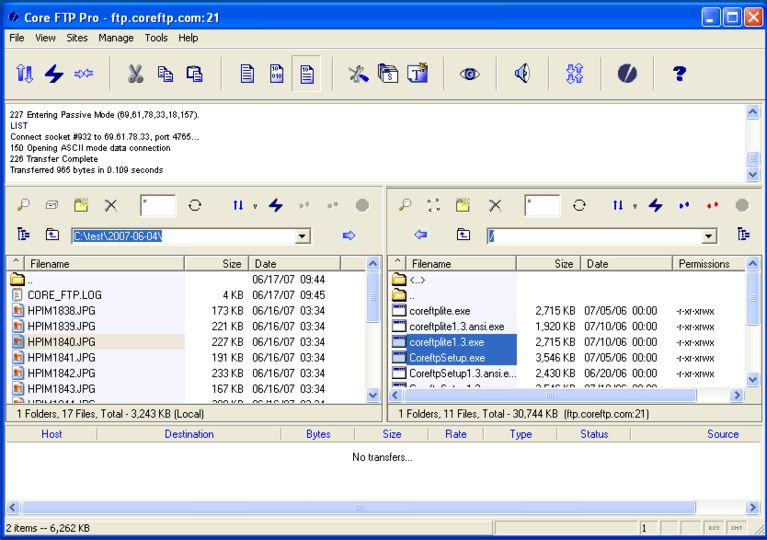 download core ftp le v2 2 1857 afterdawn software