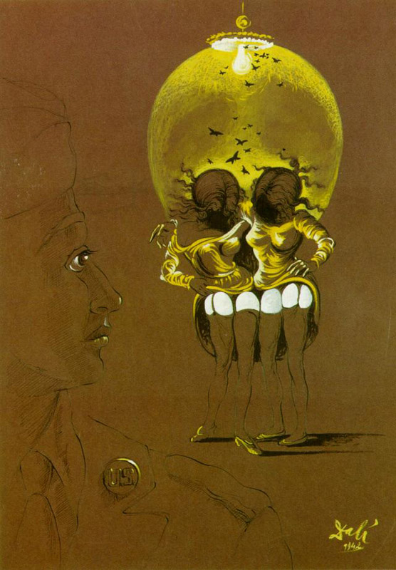 salvador dali essays Soft construction with boiled beans: a premonition on civil war is a painting done in 1936, by the star of surrealism, salvador dal it hangs among other pai.