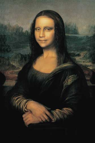 """Mona Lisa in its Origin"", Yasumasa Morimura"