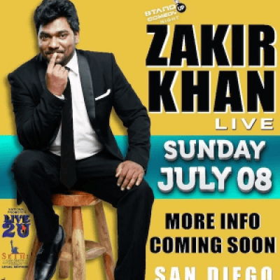 zakir khan stand up comedy live in san diego