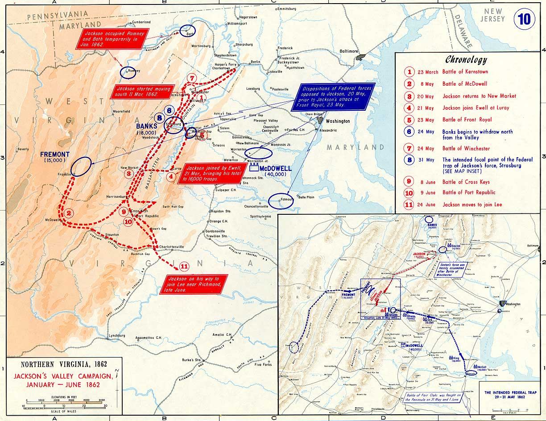 Virginia Civil War Battle At Port Republic