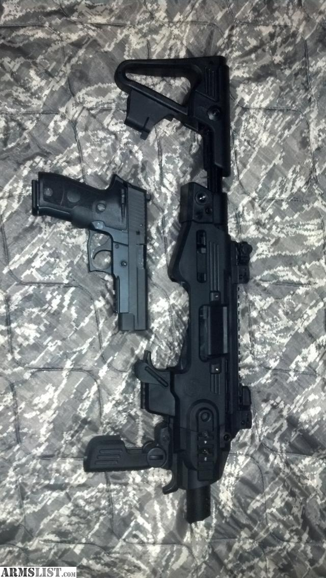 Sig P226 Adaptive Carbine Platform