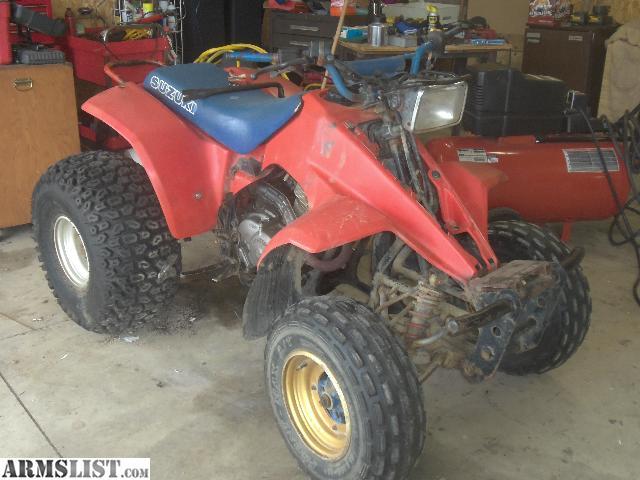 1985 Suzuki 230 Quadsport Parts