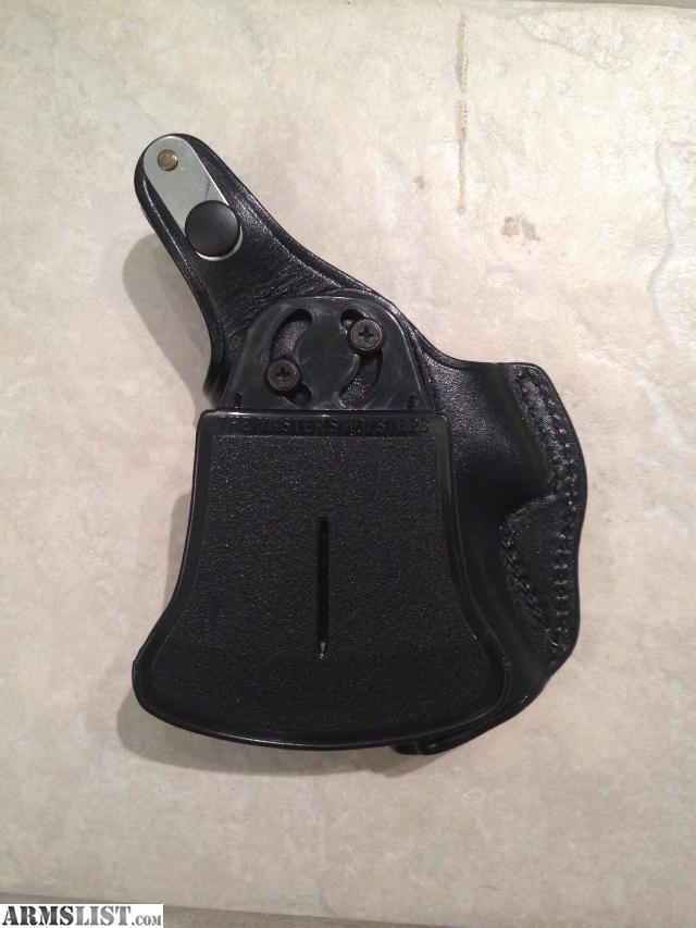 Paddle 19 Leather Holster Glock