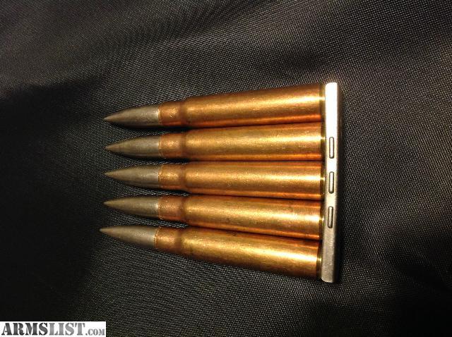 Turkish 8mm Mauser Ammo