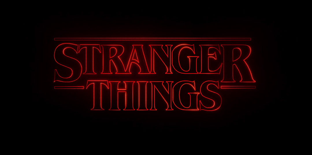 Image result for stranger things title