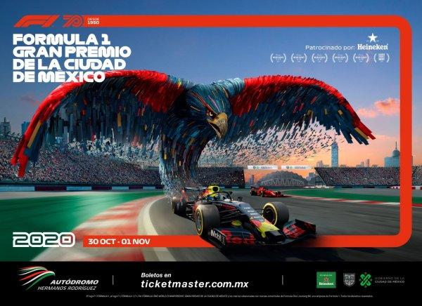 Presentan la nueva imagen del Gran Premio de la Ciudad de México