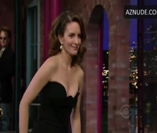 Tina Fey Nude Sexy Scene In Late Show With David Letterman