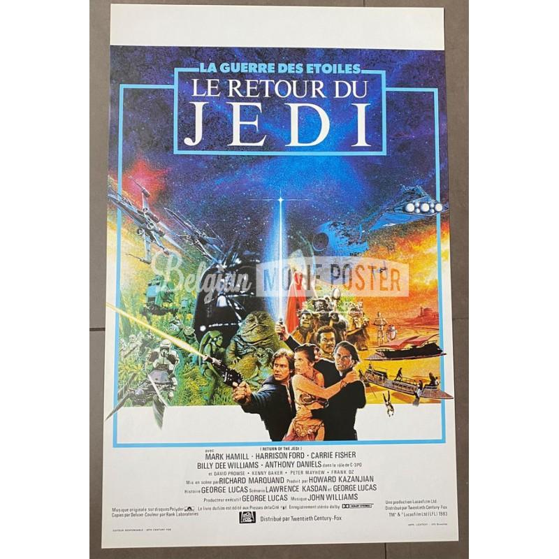 star wars return of the jedi belgian movie poster store