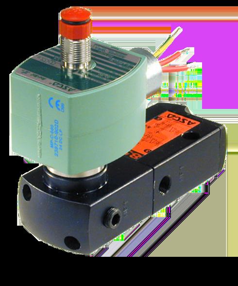 ASCO Direct Mount Redhat II Spool Valve 8551G401 12060AC