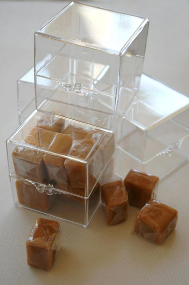 2 Inch Square Clear Acrylic Boxes Favors Or Parties Or