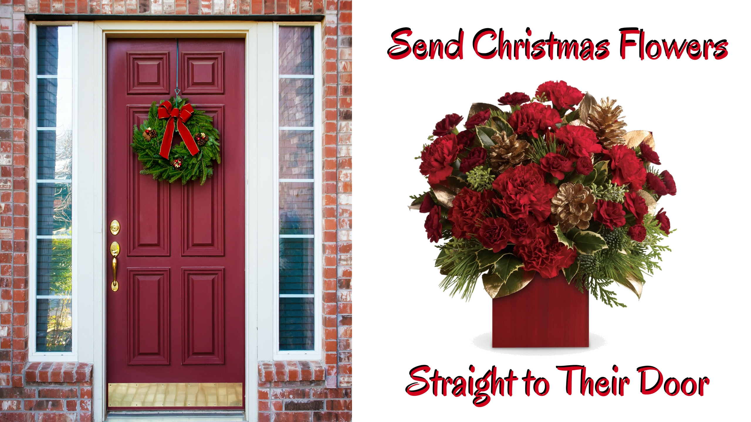 Tis The Season For Delivering Festive Christmas Floral