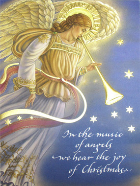 Sisters Of Carmel Music Of Angels Christmas Card