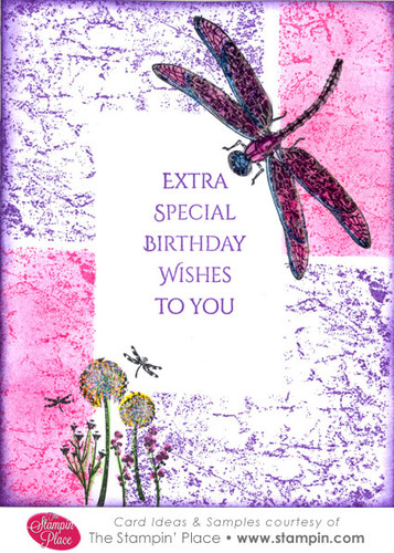 Dragonfly Birthday Wishes Card Ideas Amp Samples Rubber
