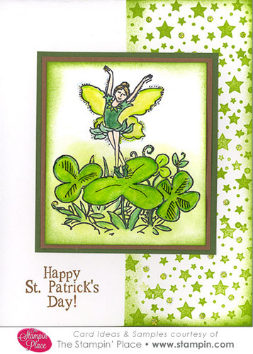 Clover Fairy Card Ideas Amp Samples Rubber Stamps Art