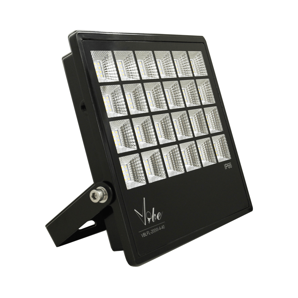 flood light vandal resistant 200w 19000lm ip66 ik08 4000k 354mm commercial grade