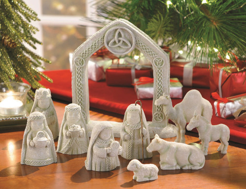 Celtic Nativity Set GiftswithloveInc
