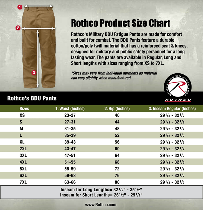 Color Camo Bdu Tactical Cargo Military Pant