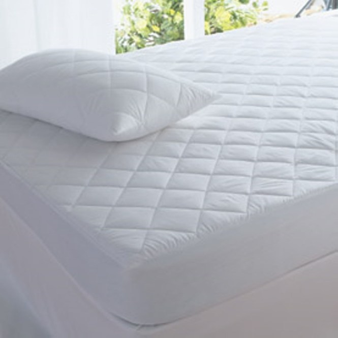 Super King Size Ed Mattress Protector Quilted 100 Cotton Anti Dust Mite Healthguard Treated