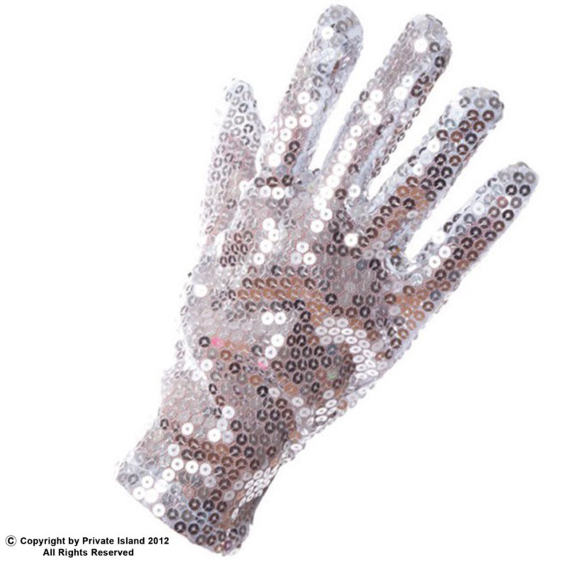 Pop Star Half Glitter Glove 1227
