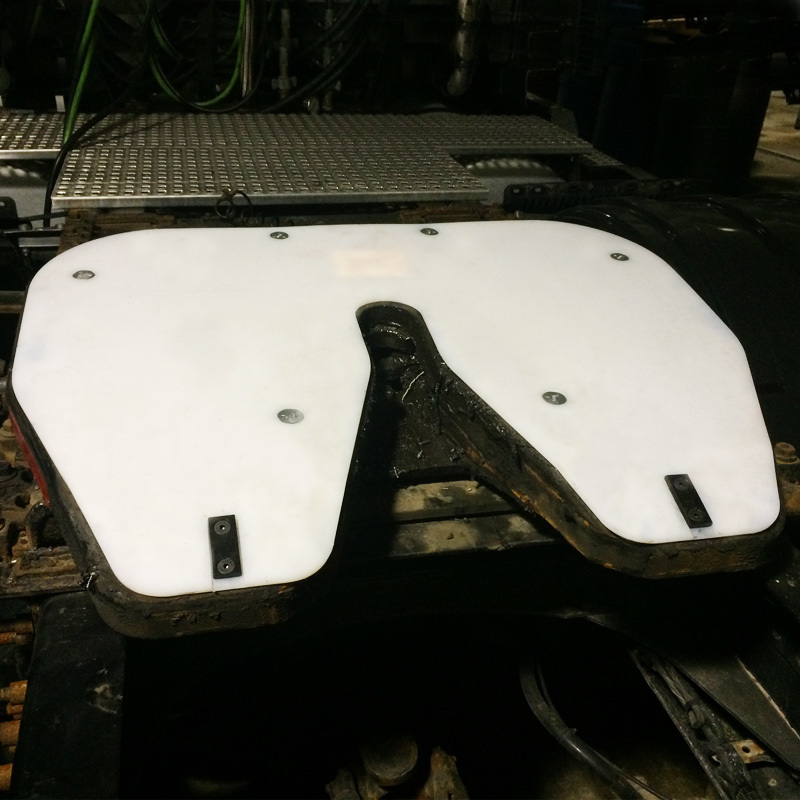Fontaine Fifth Wheel Slick Plate Raneys Truck Parts