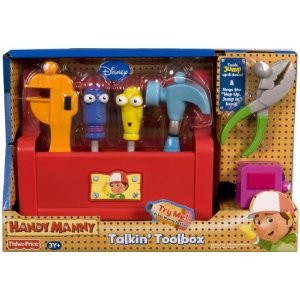 Fisher Price Disney Handy Manny S Talking Tool Box For Moms