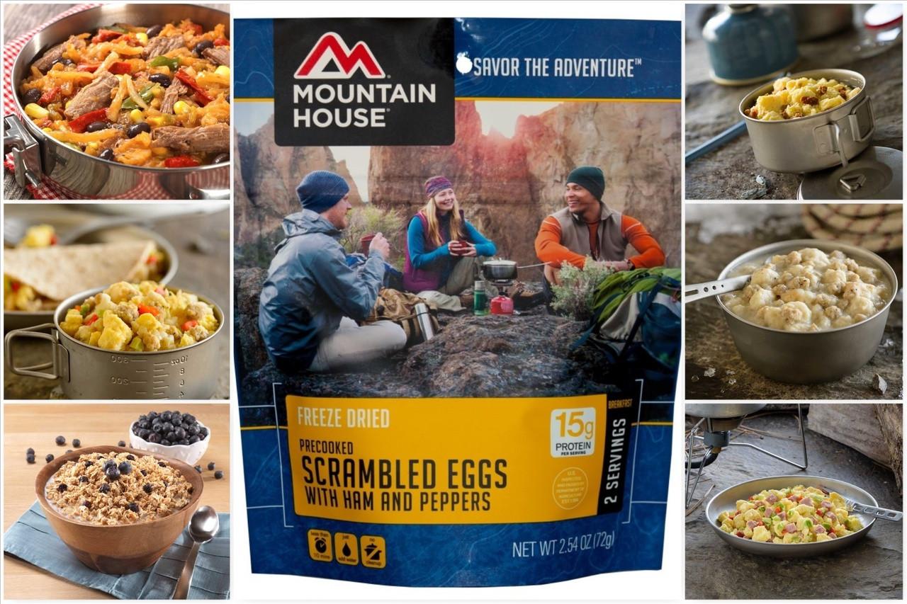 Mountain House Breakfast Pouch Freeze Dried Food
