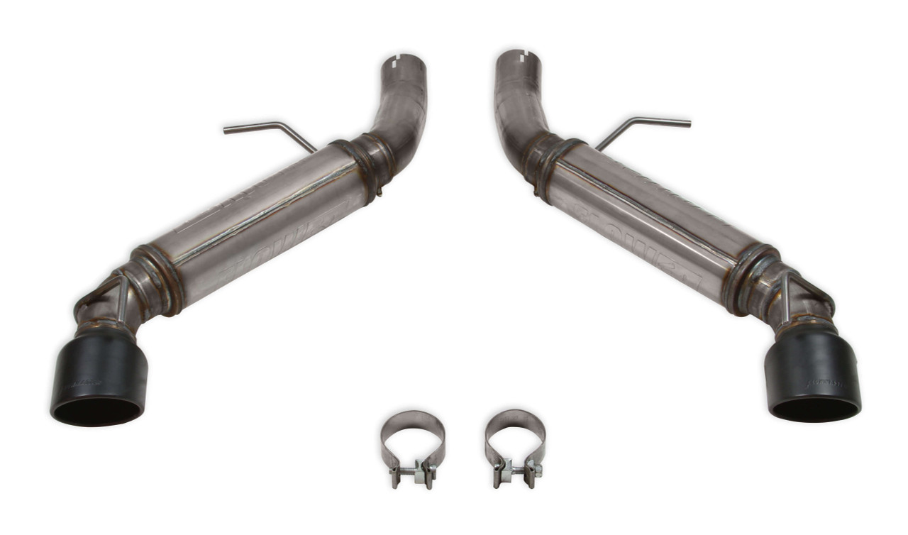 2016 19 camaro ss 6 2l flowfx axle back exhaust system flowmaster