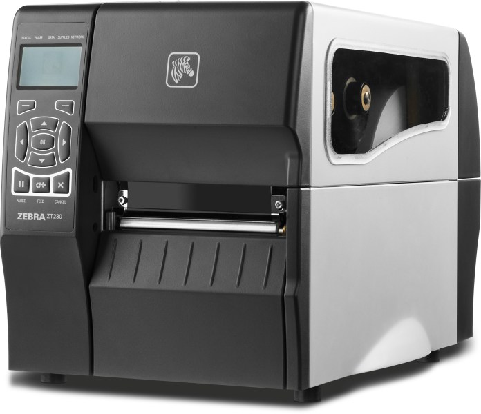 Zebra ZT230 Direct Thermal   Thermal Transfer Printer   LabTAG com Find Similar Products by Category