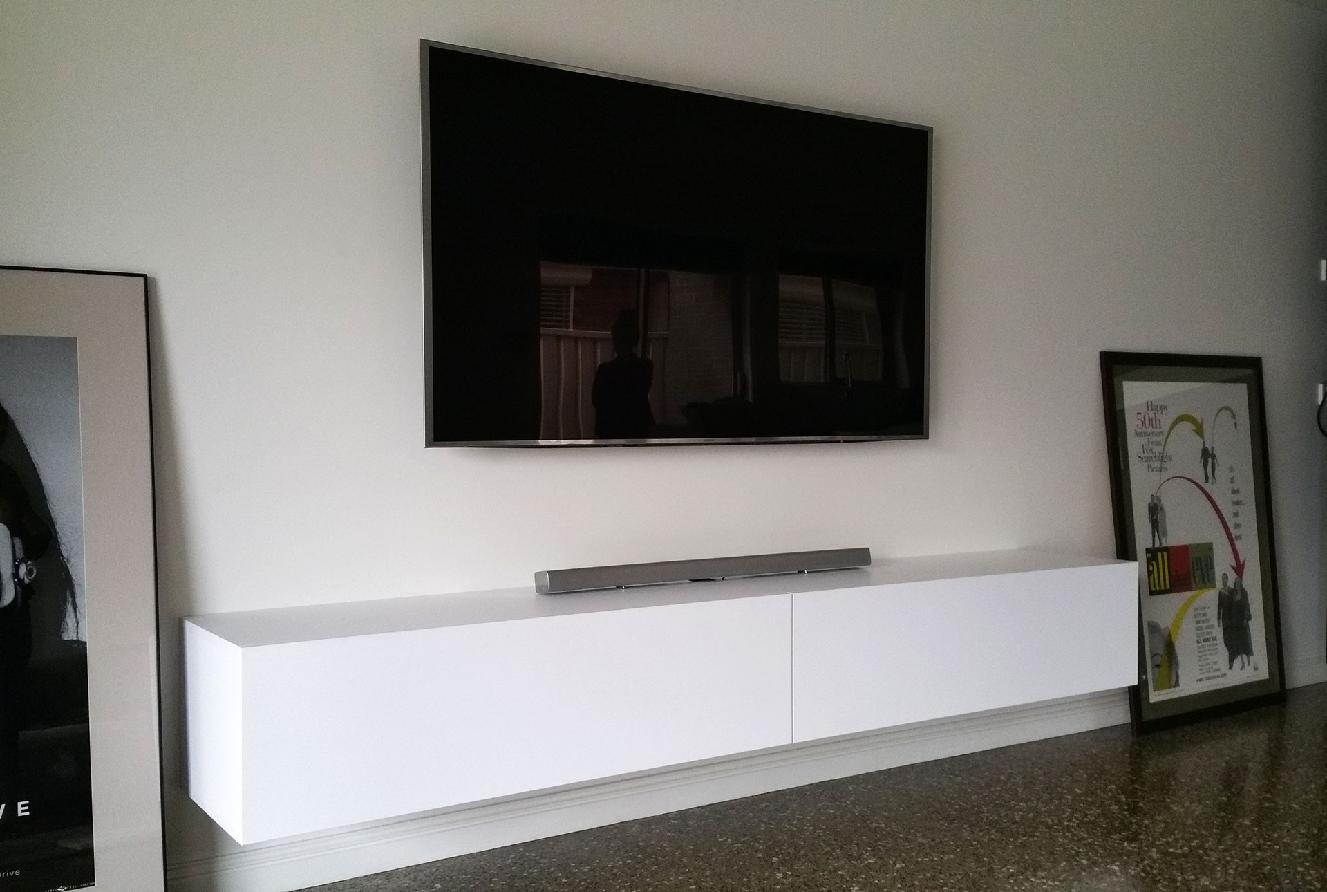 Modern Floating TV Entertainment Units And TV Cabinets, TV