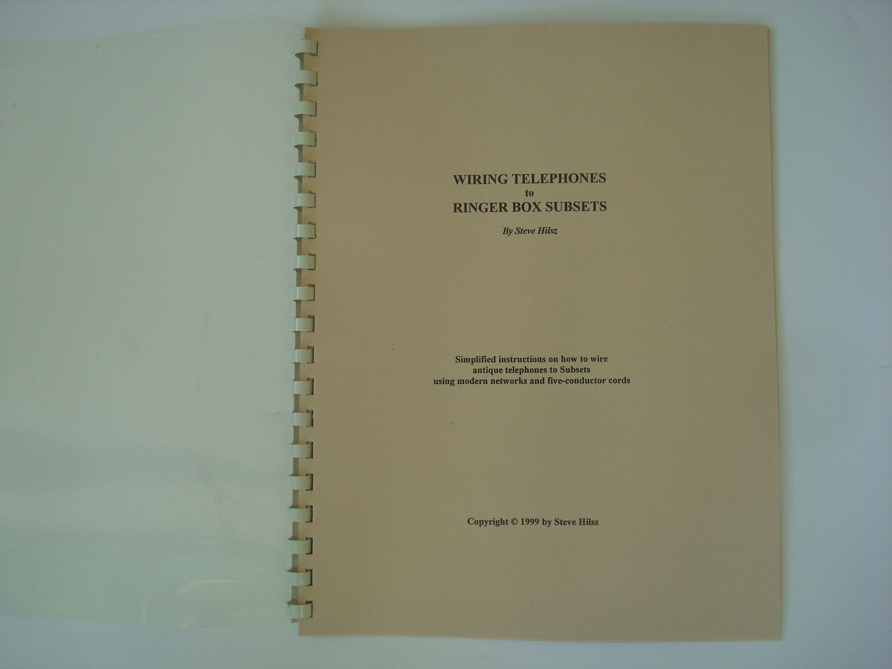 Antique Telephone Wiring Diagram Book Wiring Telephones To
