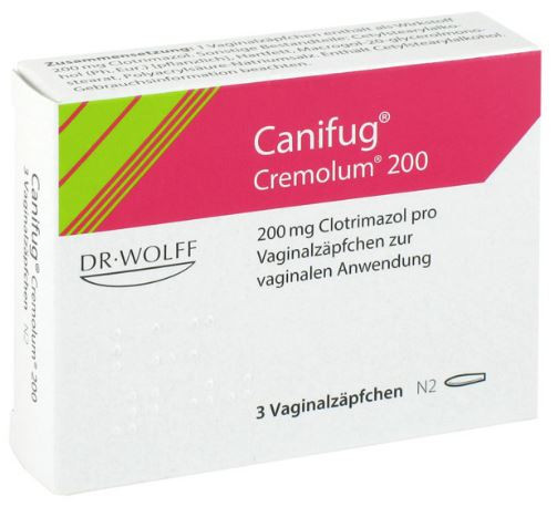 Canifug Cremolum 200 Vaginalzapfchen Vaginal Suppositories 3ea Worldwide Shipping Paulsmart Europe