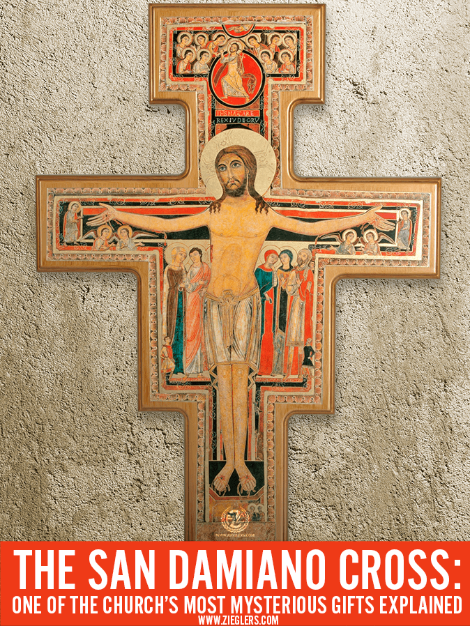 The San Damiano Cross One Of The Churchs Most Mysterious