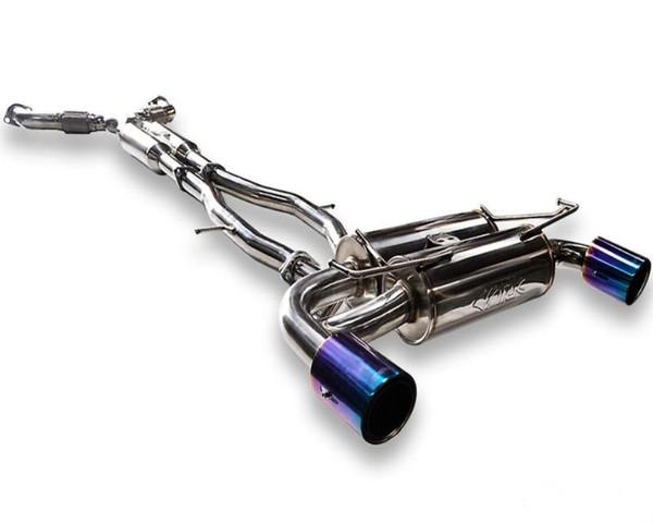 ark performance dt s tecno tip exhaust nissan 370z 09 on