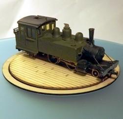 Kitwood Hills Model 009 90mm turntable