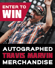 Win Travis Marvin Merchandise!